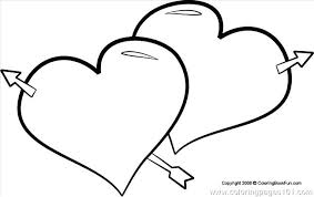 Free Heart Coloring Pages Lovely To Print And Printable Valentine Hear