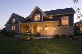 House Plans Farmhouse Colors Craftsman Farmhouse Home Plan 4 Bed 2909 Sq Ft House Plan 109 1191