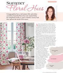 100 Home Ideas Magazine Australia Country Summer Floral Hues Interior Design