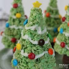 Rice Krispie Christmas Tree Ornaments christmas tree rice krispie treats