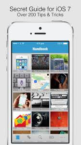 Secret Handbook for iOS 7 Tips & Tricks Guide for iPhone on the