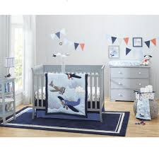 Carter s Take Flight 4 Piece Crib Bedding Set Babies
