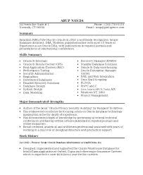 Resume Sample Project Manager It