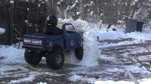 100 Build Mini Monster Truck Go Kart VS Snow Wall YouTube