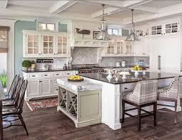 Colonial Coastal Kitchen Custom