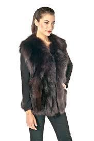 plus size fur vests