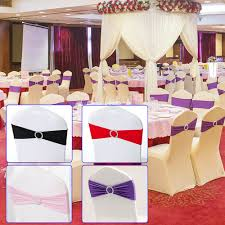 Details About 50/100 Spandex Stretch Wedding Party Chair Band Sashes With  Buckle Bow Slider US Us 429 New Year Party Decorations Santa Hat Chair Covers Cover Chairs Tables Chafing Dish And Garden Krush Linen Detroit Mi Equipment Rental Wedding Party Chair Covers Cheap Chicago 1 Rentals Of Chicago 30pcslot Organza 18 X 275cm Style Universal Cover For Sale Made In China Cute Children Cartoon Pattern Frozen Baby Birthday