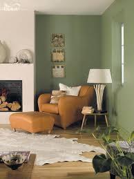 grüne farben für wohnzimmer dekoration ideen braune