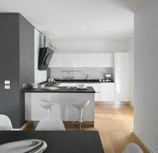weiße küche dunkle arbeitsplatte heller boden küche