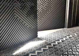 mixed ikat tile layout in malolam cantina el paso tx awesome