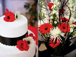 Red And Black Flowers For A Wedding White Favorite Of 2011 Calie Rose Online
