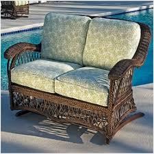 Patio Furniture Loveseat Glider by Glider Chairs Resin Wicker Swivel Glider Chairs