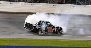 100 Truck Series Brett Moffitt Wins Chicagoland NASCAR Race