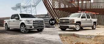 100 Ford Trucks Vs Chevy Trucks 2016 F150 Vs 2016 Silverado