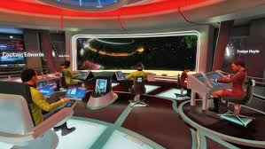 Star Trek Captains Chair by Star Trek Bridge Puts You In The Virtual Reality Captain U0027s Chair