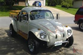 VW Beetle Flatbed Truck