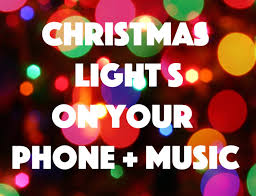Blinking Christmas Tree Lights by Flashing Christmas Lights For Your Phone Youtube