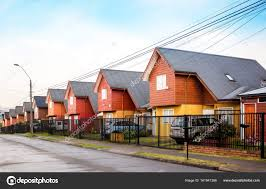 100 Houses In Chile Similiar Houses In Stock Photo Wastesoul 161941386