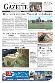 Stoltzfus Sheds Madisonburg Pa by Centre County Gazette March 31 2016 By Indiana Printing