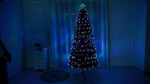 8ft Artificial Christmas Trees Uk by Fibre Optic Led Christmas Tree 2 By Hisp Uk Youtube