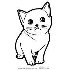 Coloring Page Cats Kitten Cat And For Kid Colouring Pages Adults Free