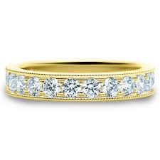 Marli Cocaine Large Ring One Band Rose Gold Diamonds MCOR4N