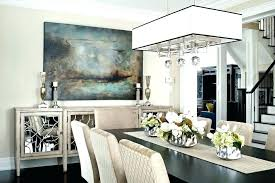 Dining Room Buffet Decorating Ideas Table Decor Tables Mirror Above