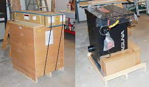 rock solid performance from a medium duty cabinet style table saw