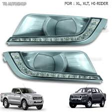 LED DRL Daytime Running Light Fog Lamp Fits Ford Ranger T6 Px2 Mk2 ... Led Drl Daytime Running Light Fog Lamp Fits Ford Ranger T6 Px2 Mk2 Unique Bargains Truck Car White 6 Smd Driving 2009 2014 Board Lights F150ledscom Freeeasy Canyon Marker Mod Leds Chevy Colorado Gmc 7 Round 50w 30w H4 High Low Beam Led 10watt Xkglow 3 Mode Ultra Bright 14pcs Led Universal 2x45cm Auto Fxible Drl With Step Bar 1pcs Styling 12w Lights Dc 12v Archives Mr Kustom Accsories