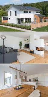 ökologisches einfamilienhaus mit holz putz fassade