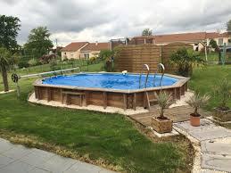 existe il un abri de piscine pour semi enterré bois piscines