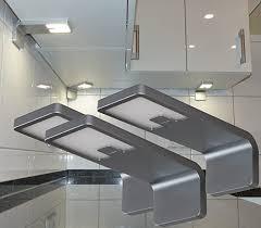 len led unterbauleuchte 4er set küchenbeleuchtung küche