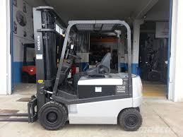 100 Nissan Lift Trucks Q02L25CU Electric Forklift Trucks Year Of Manufacture