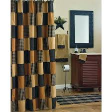 Rustic Country Shower Curtains Sets And Style Bathroom Accessories Primitive