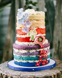 Naked Cakes Going Au Naturel With Your Wedding Cake
