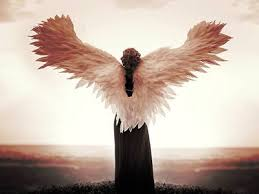Angel With Spread Wings