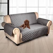 protection pour canapé tapis protection gris