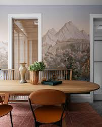 18 Dining Room Wallpaper Ideas That'll Elevate All Your Dinner Parties 10 Style Tips For Pulling Off A Mix Match Ding Set Apartment Fniture Styles Modern Traditional Zin Home Bar Kitchen Crate And Barrel Easy Ways To Patterns In Your Freshecom 7 Piece Table 6 Chairs Glass Metal Room Black Sterdam Modern Mix And Match School Chairs Workspaces Diy Mixing Wood Tones Need Living Makeover Successfully How Mix Match Pillows To With Your Bedroom Pop Talk Swatchpop