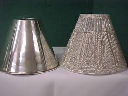 Lamp Shades Design Silver Lamp Shade Two Stainless Steel With