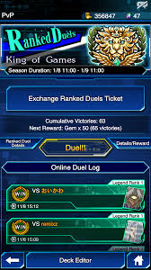 Yugioh Deck Tester App by Deck Kog With Balance Control 65 Wins From Gold 4 To Kog