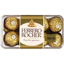 Ferrero Rocher Christmas Tree Box by Ferrero Rocher Chocolates 16pk 200g Box Woolworths