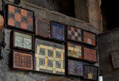 Moravian Pottery And Tile Works by Handmade Tiles From The Moravian Tile Works In The Windows Of The
