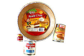 Pumpkin Pie Libbys Recipe by Amazon Com Pumpkin Pie Ingredients Base Keebler Ready Crust
