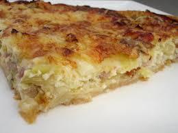 pate brisee au fromage recette tarte poireau lardons et fromages cuisinez tarte poireau