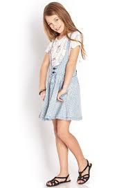 polka dot overall dress kids forever21 girls 2000063437