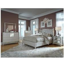 Mor Furniture Bedroom Sets by Hollywood Loft Frost Queen Platform Bed El Dorado Furniture