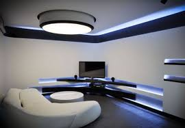 blue led ceiling lights make your home environment different