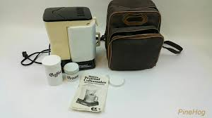 Vintage Melitta Personal Coffee Maker In Travel Carrying Case Double Tap To Zoom