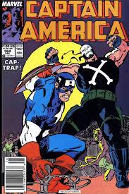 Captain America Vs Crossbones