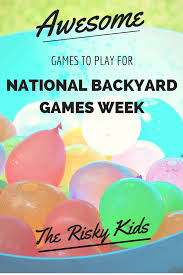 Awesome Games To Play For National Backyard Games Week Backyard Soccer Games Past Play Qp Voluntary I Enjoyed Best 25 Games Kids Ideas On Pinterest Outdoor Trugreen Helps America Velifeoutside With Tips And Ideas For 17 Awesome Diy Projects You Must Do This Summer Oversize Lawn Family Kidspace Interiors Wedding Yard Wedding 209 Best Images Stress Free Outdoors 641 Fun Toys How To Make A Yardzee Game Yard Garden 7 Week Step2 Blog